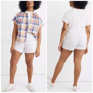 NEW Madewell High Rise Cutoff Denim Jean Shorts